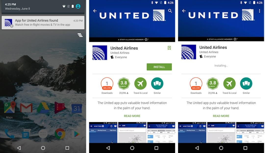 Android Nearby feature recommends, launches apps based on location