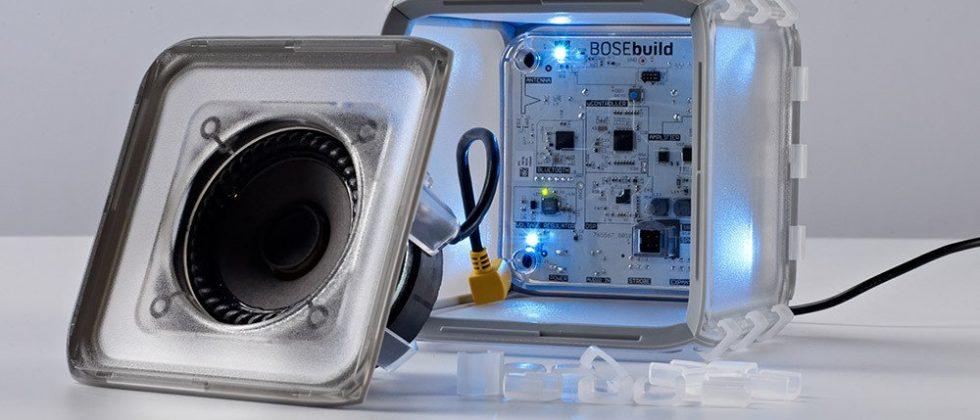 BOSEbuild aims to teach kids tech with DIY speaker