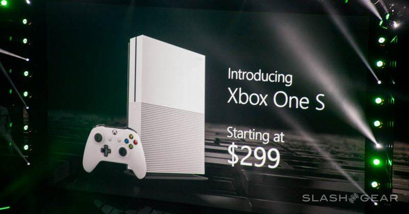 Xbox One S is 40% smaller, and comes with a redesigned controller