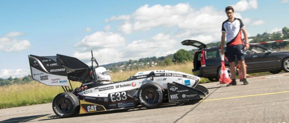 Watch this electric race car SMASH the 0-60 mph record