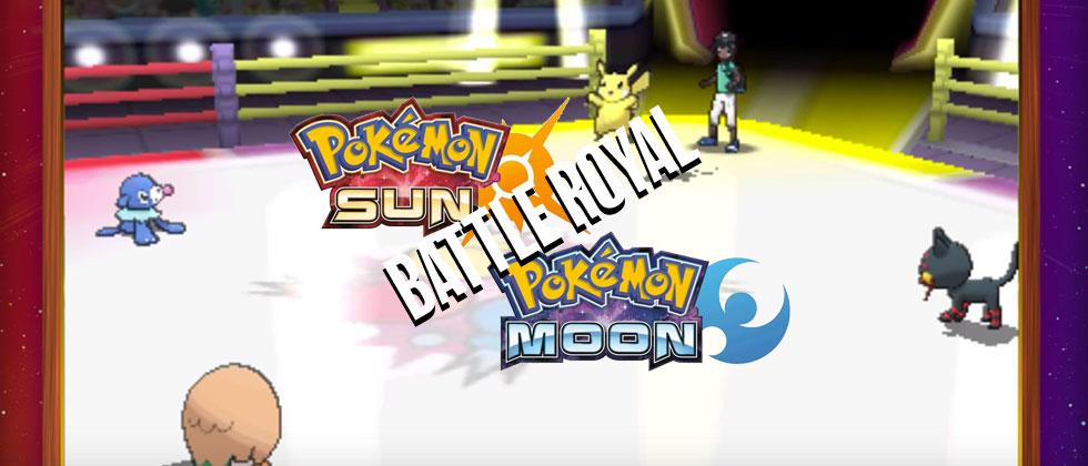 Pokemon Sun and Moon details: Battle Royal multiplayer