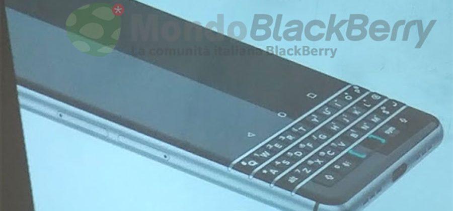 BlackBerry Mercury (Rome) renderings show slick physical keyboard