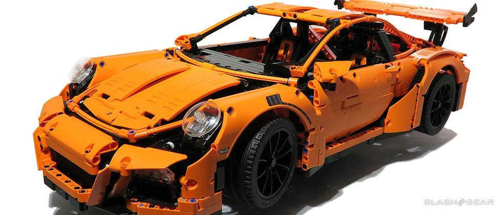 Lego Technic Porsche 911 Gt3 Rs Review Slashgear