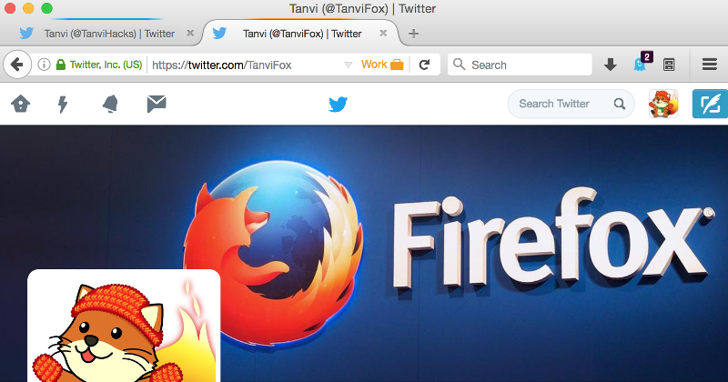 Firefox Containers are an experiment in multiple identities