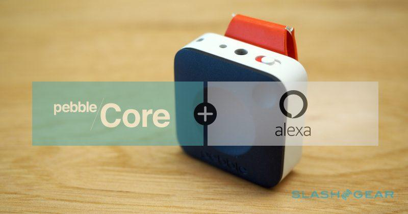 Pebble Core and Amazon's Alexa become best pals