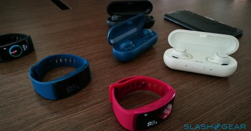 Samsung Gear Fit 2, Gear IconX Hands-on: Putting fitness at the top
