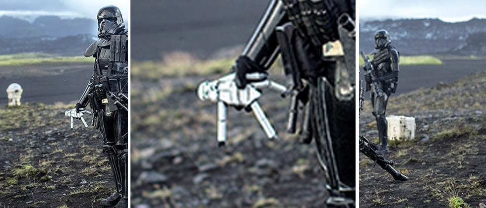 First Star Wars Rogue One photos show Stormtrooper Doll and details