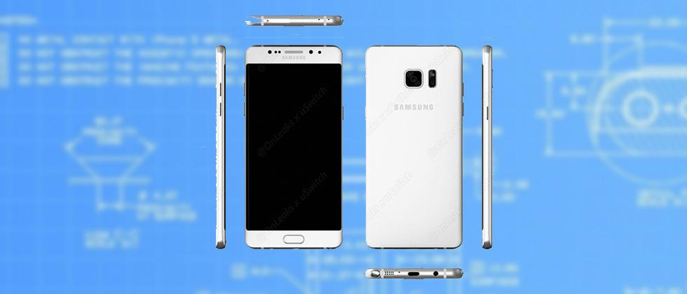 Galaxy Note 6 key details appear in leaked blueprints