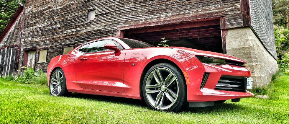 The 2016 Chevrolet Camaro Lt Takes On A Trio Of V6 Muscle Cars
