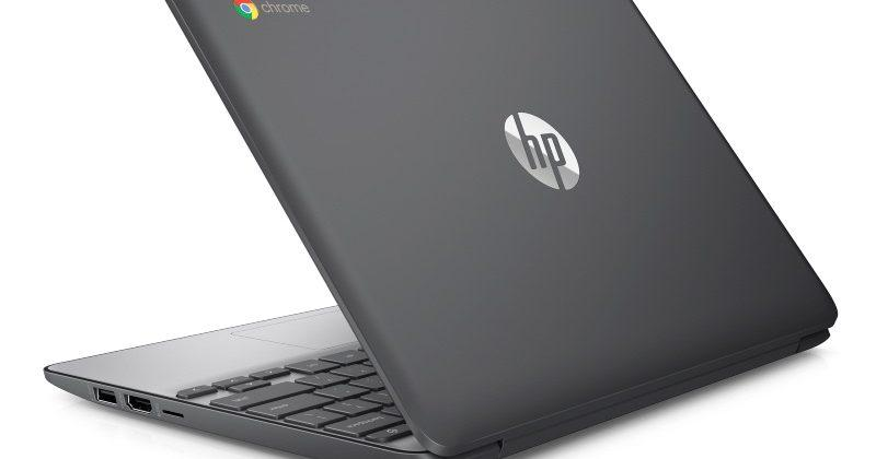 HP Chromebook 11 G5 surfaces with optional touchscreen