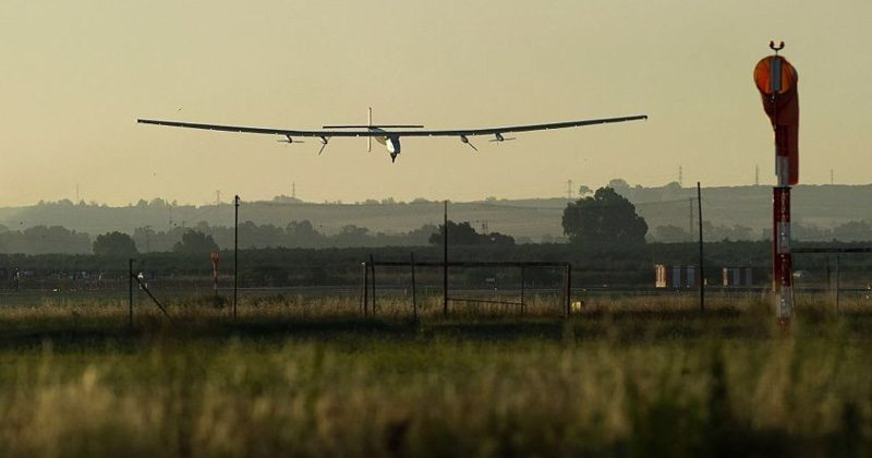 Solar Impulse 2 makes the first solar-powered Atlantic flight