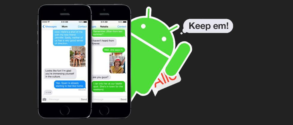You don't want iMessage on Android, anyway