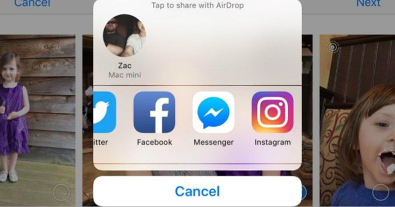 Instagram adds one-touch sharing to iOS devices