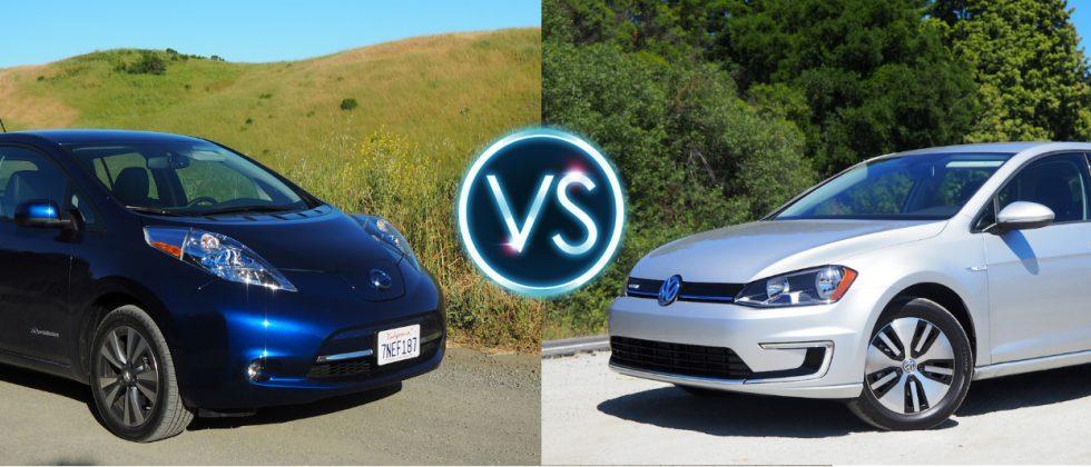 2016 Nissan Leaf Vs Volkswagen E Golf Range Anxiety