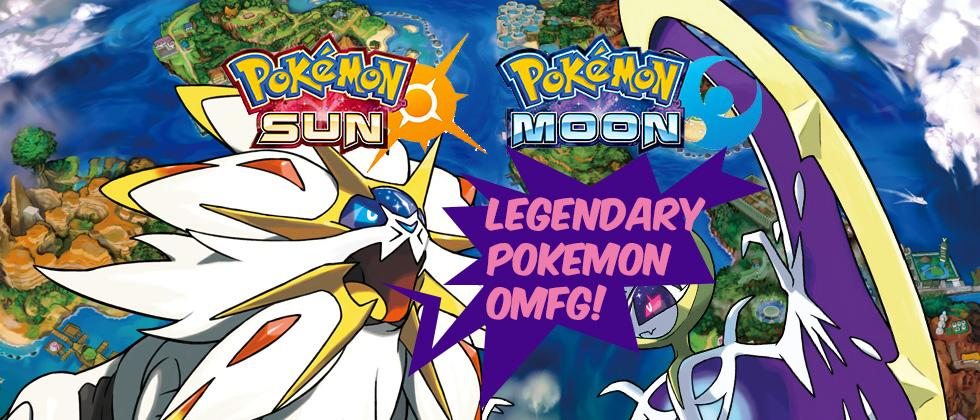 These are Pokemon Sun and Moon's Legendaries