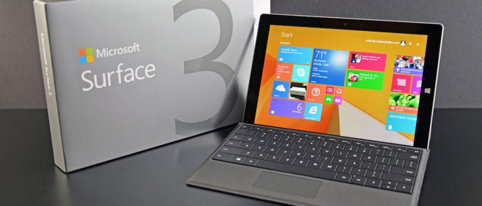 Microsoft confirms Surface 3 production to end later this year