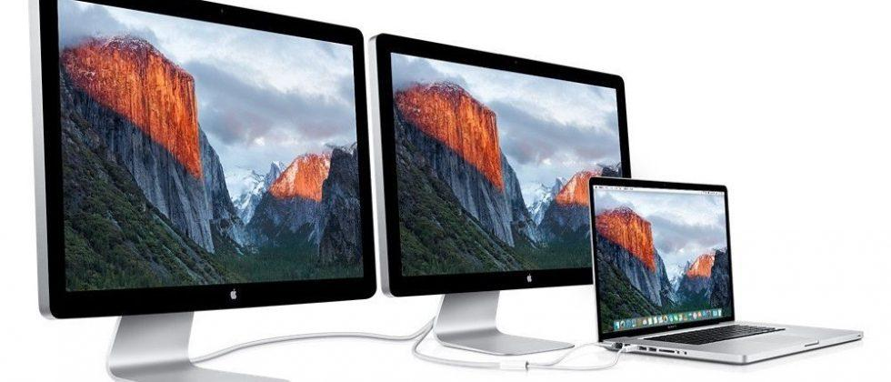 Apple said to be working on Thunderbolt Display successor with integrated GPU