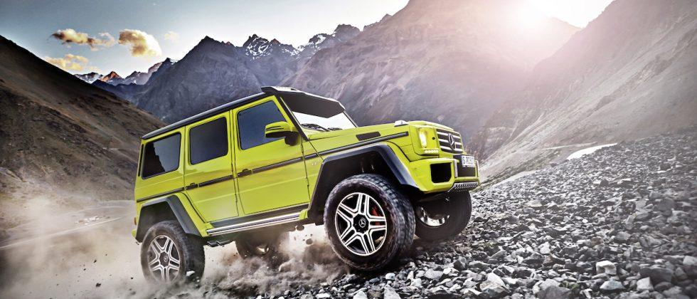 Mercedes-Benz G550 4×4² makes its US debut in 2017