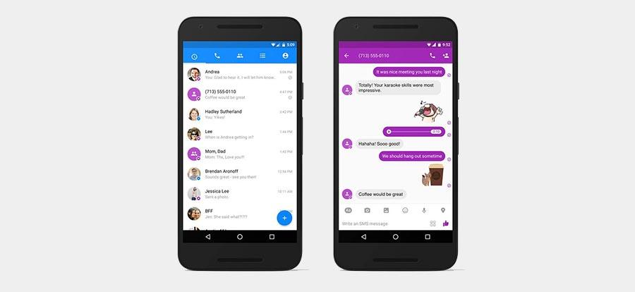Facebook Messenger for Android gets SMS support