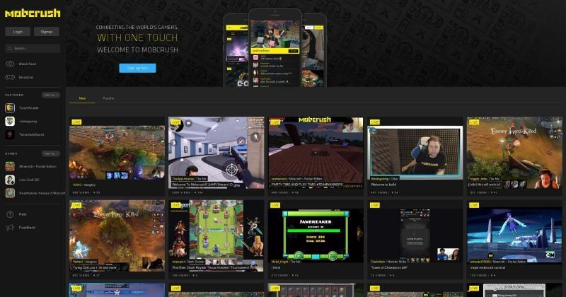 Mobcrush game livestreaming fully launches for mobile