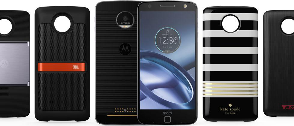 """Moto Z Droid """"Moto Mods"""" pre-order, details, and official specs"""