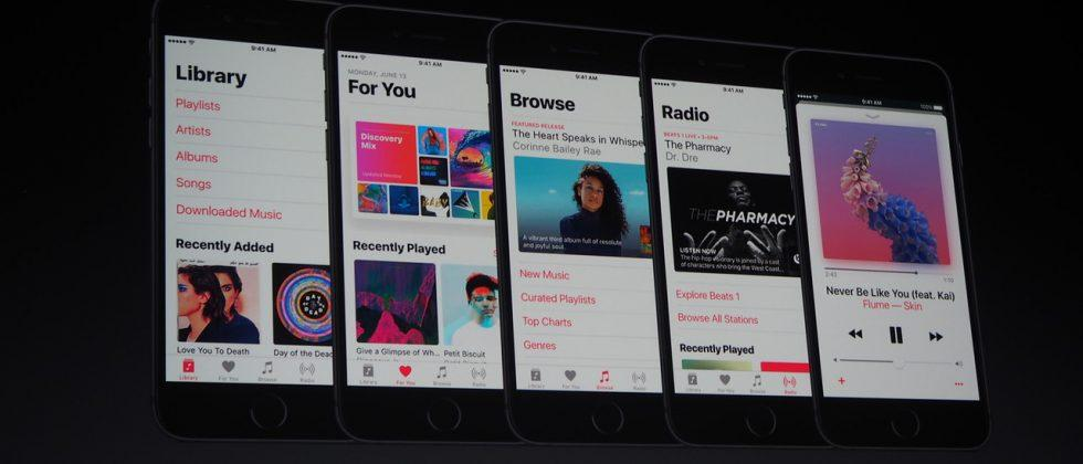 Apple Music redesigned from the ground up