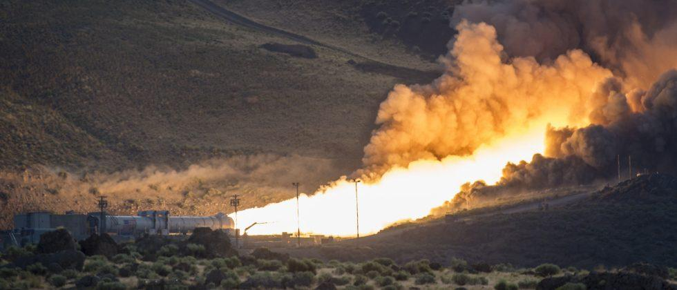 Flames and fanfare as NASA's Mars mission rocket aces testing