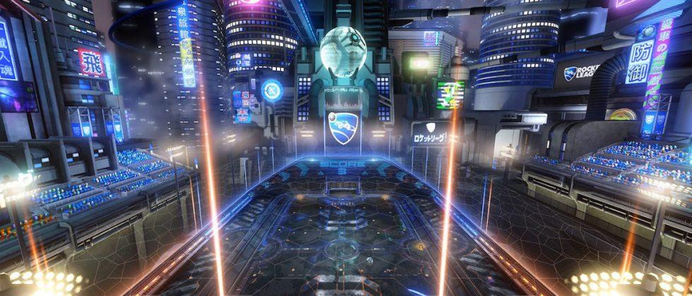 Rocket League heads to Neo Tokyo for June update