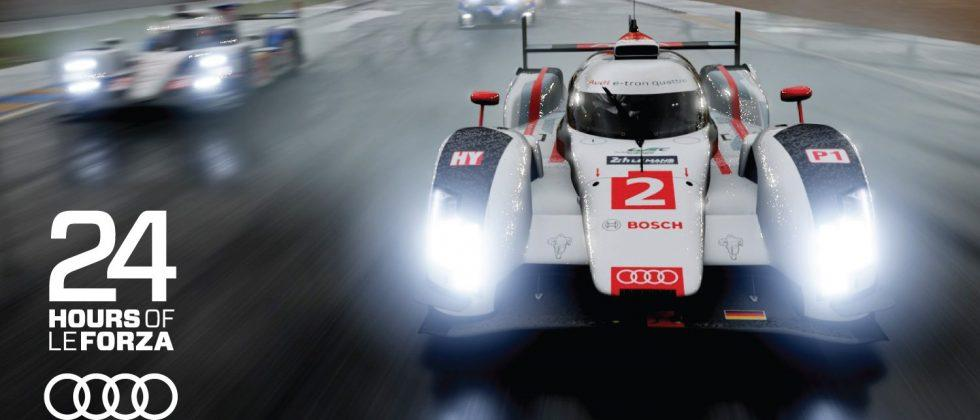 Audi 24 Hours of Le Forza Is Your Digital Le Mans Videogame Challenge