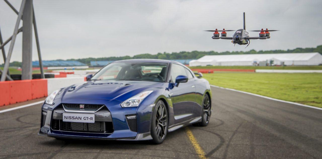 Nissan creates GT-R drone: 0-100 km/h in just 1.3 seconds