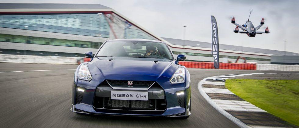 It's Drone vs 2017 Nissan GT-R in this epic race