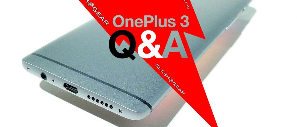OnePlus 3 Review Part 4: Answering your Questions (Q&A)
