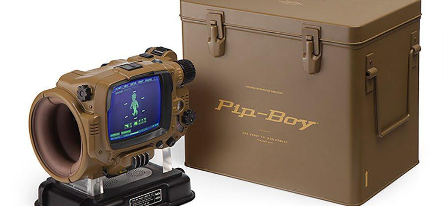 Pip-Boy: Deluxe Bluetooth Edition is fit for the apocalypse