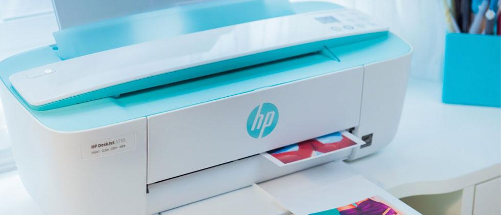 """HP Deskjet 3755 is """"world's smallest all-in-one"""" and super cute"""