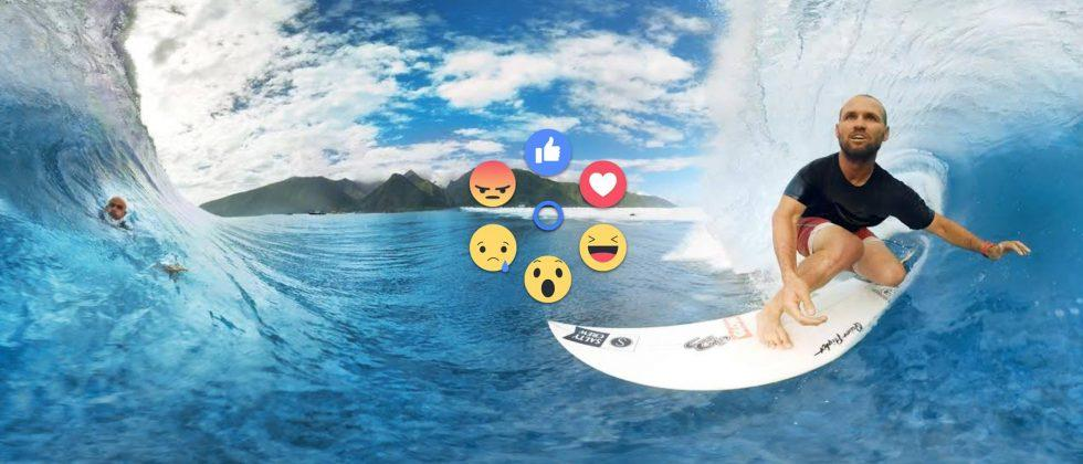 Facebook brings reactions to virtual reality