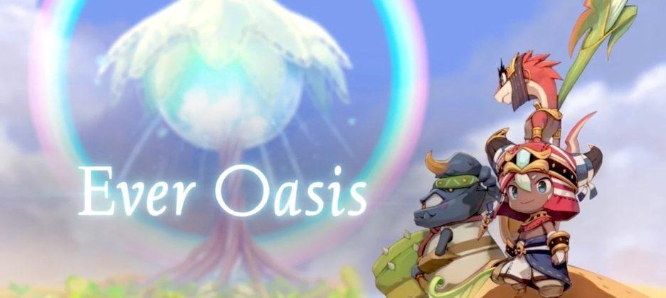 Ever Oasis is Nintendo's new RPG for the 3DS