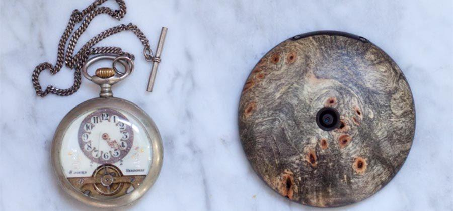 Runcible, a wooden smart pocket watch, launches on Indiegogo