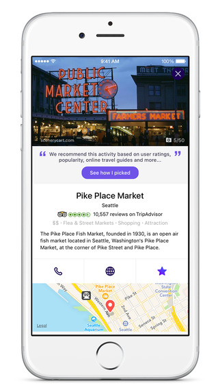 Yahoo Radar app wants you to chat with a virtual travel