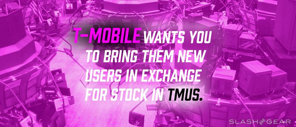 T-Mobile is trading stock for new customers – with these rules