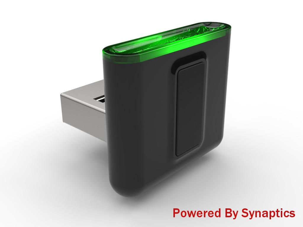 Synaptics USB fingerprint scanner gives any PC biometric