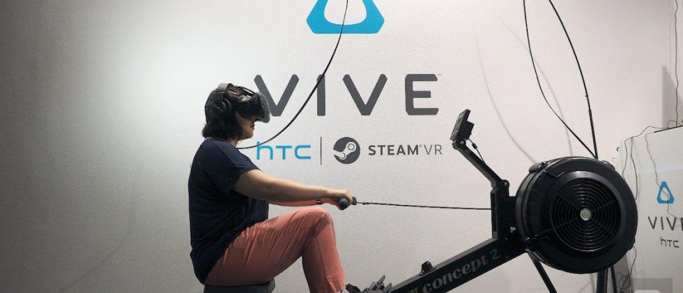The ultimate VR workout combines Vive with a rowing machine