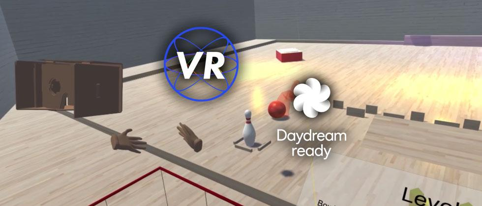 Google teases VR bowling, Daydream puzzle