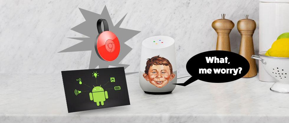 Chromecast in Google Home should come as no surprise