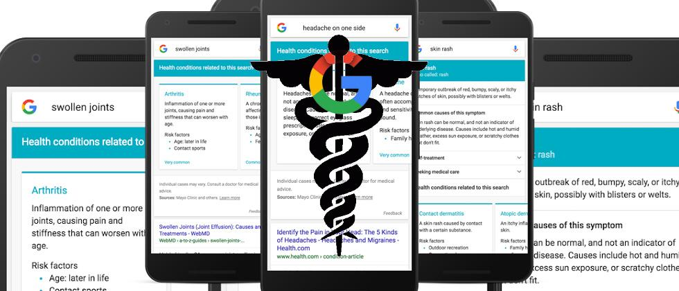 Google Health symptoms search about to get much smarter