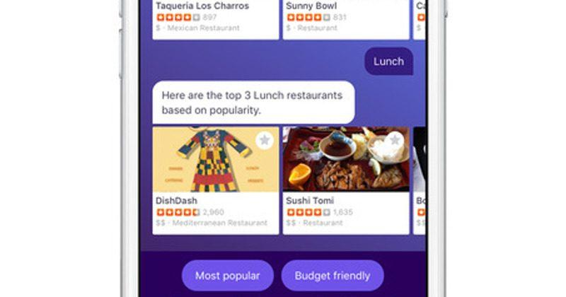 Yahoo Radar app wants you to chat with a virtual travel guide