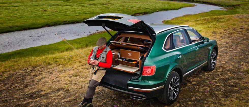 Bentley Bentayga Fly Fishing by Mulliner goes niche with uber-SUV