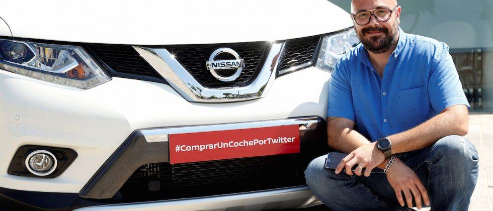 Nissan dealership used Twitter to sell a car