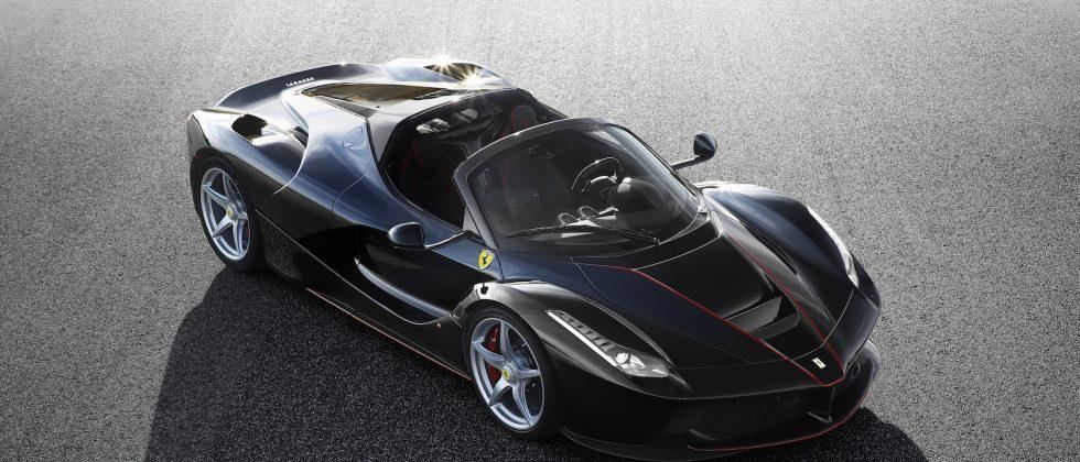 Check out the stunning open-top LaFerrari you can't buy