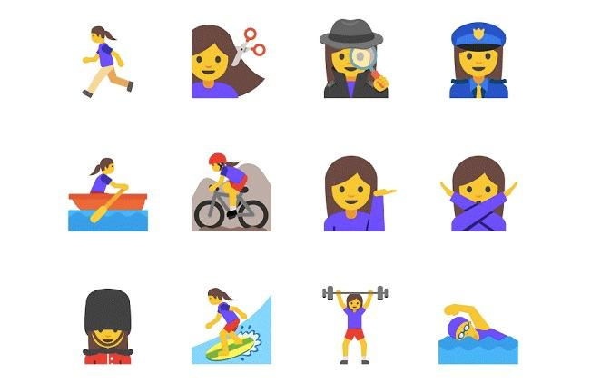 Google's diverse working women emoji approved by Unicode