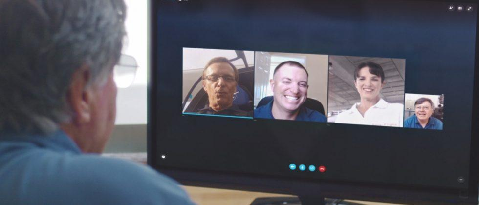 Skype debuts new browser-based group video chats, offline
